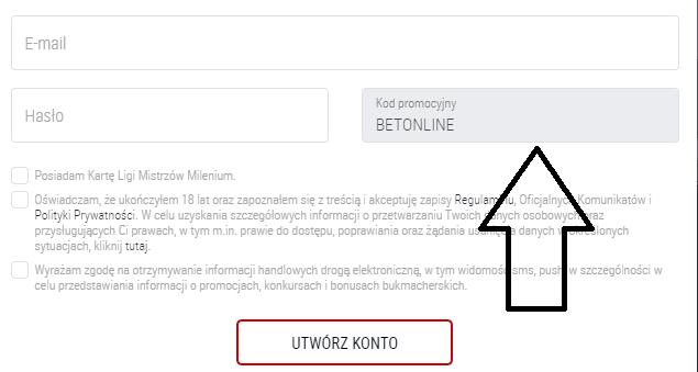 Photo of Darmowy kod promocyjny u bukmachera Milenium