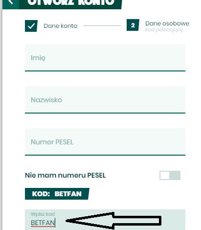 Photo of Aktualny kod promocyjny bukmachera BetFan na bonus do 3000 PLN i zakład bez ryzyka