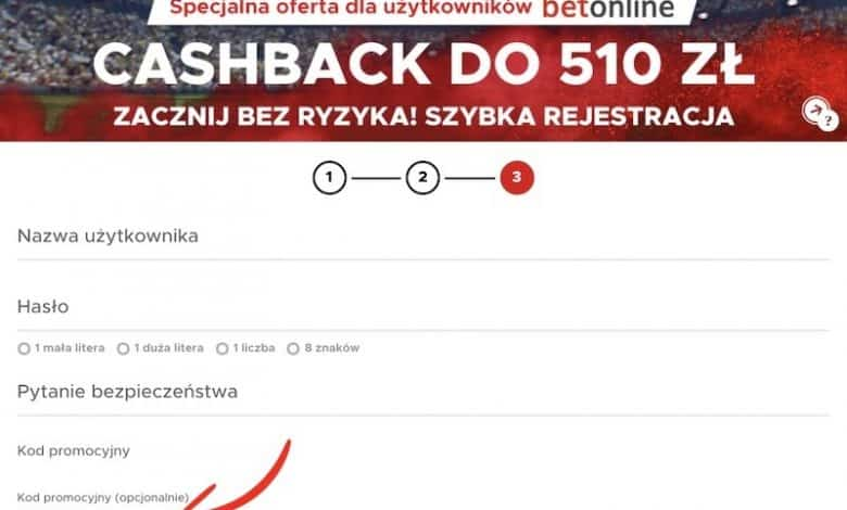 Photo of Betclic bonus powitalny 510 PLN. Cashback ze specjalnym kodem promocyjnym!